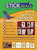 50 Pack Stick 'N' Seal Home Sealing Kit