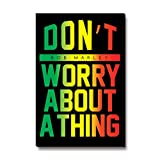 Bravado Bob Marley Rasta Don't Worry About a Thing Fridge Magnet