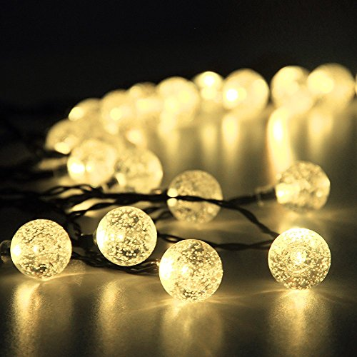 InnooTech-30er-LED-Solar-Lichterkette-Garten-Globe-Auen-Warmwei-6-Meter-Solar-Beleuchtung-Kugel-fr-Party-Weihnachten-Outdoor-Fest-Deko-usw