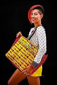 Ju-Ju-Be Hello Kitty Collection Zippered Diaper Bag Tote, Super Be by Ju-Ju-Be