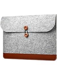 Bronze Times(TM) 13 Inch Macbook Air Sleeve Bag,Lightweight Laptop Case,Grey