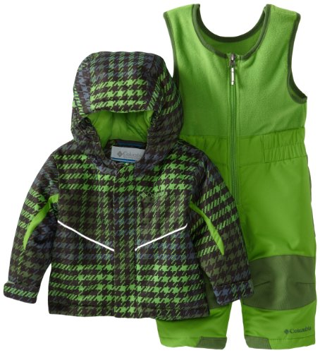 #1 Columbia Unisex-Baby Newborn Buga Set, Dark Backcountry Houndstooth, 6/12 Months