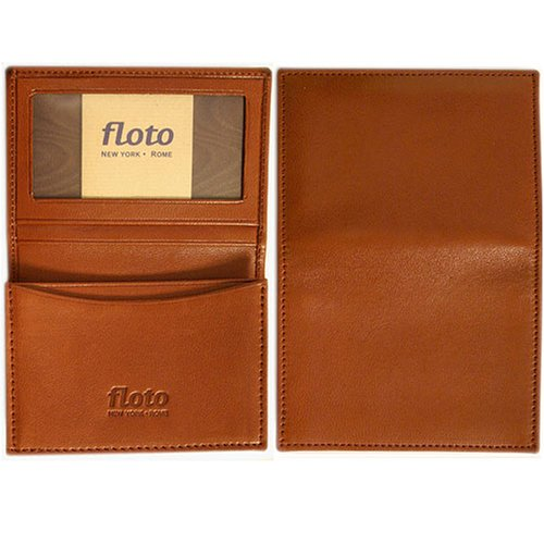 Floto Brown Leather Business Card Case - wallet - Buy Floto Brown Leather Business Card Case - wallet - Purchase Floto Brown Leather Business Card Case - wallet (Floto, Apparel, Departments, Accessories, Wallets, Money & Key Organizers, Billfolds & Wallets)
