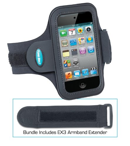 a74e583197 Sport Armband for iPod touch 4G and EX3 Armband Extender Bundle from Tune  Belt - (