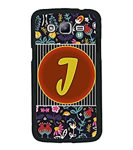 PrintVisa Metal Printed Alphabet Designer Back Case Cover for Samsung Galaxy J5-D4793