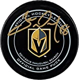 James Neal Vegas Golden Knights Autographed Official Game Puck - Fanatics Authentic Certified - Autographed NHL Pucks