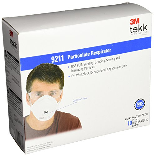3M 9211 Cool-Flow N95 Particulate Sanding Respirator