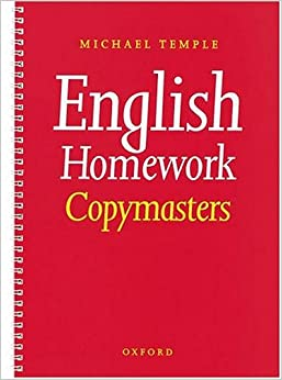 english homework book