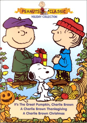 Peanuts Holiday Collection (A Charlie Brown Christmas/A Charlie Brown Thanksgiving/It'S The Great Pumpkin, Charlie Brown) front-411061