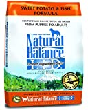 Dick Van Patten's Natural Balance Limited Ingredient Diets Sweet Potato and Fish Formula Dry Dog Food, 13-Pound Bag