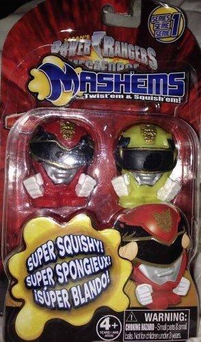 Power Rangers MegaForce Mash'Ems Series 1