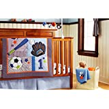 New 10 Pieces Baby Boy Sport Crib Bedding Set