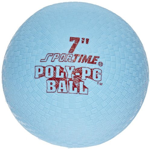 Sportime Poly Playground Ball - 7 inch - Blue