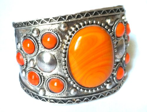 Cuff Bracelet ,Silver Tribal Cuff,ethnic Jewelry,
