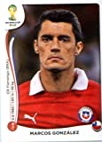 2014 Panini World Cup Soccer Sticker # 149 Marcos González Team Chile