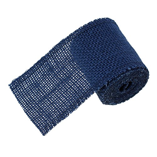 souarts-navy-blue-natural-jute-burlap-mesh-wrap-ribbon-width-6cm-length-2-meters
