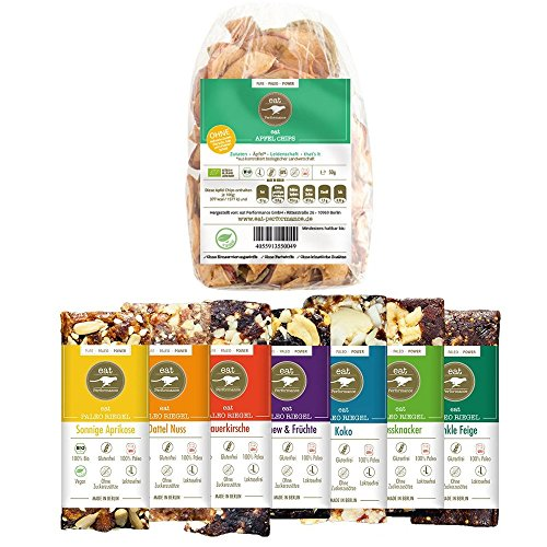 Vegan Snack Box (330g) von eat Performance (Paleo, Bio, Geschenk-Set, glutenfrei, laktosefrei, superfood)