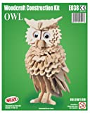 Owl – Woodcraft Construction Kit