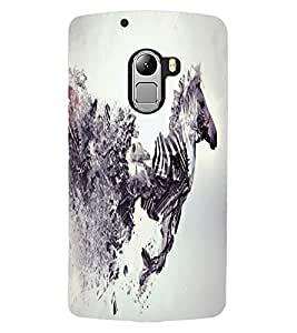 ColourCraft Creative Zebra Image Design Back Case Cover for LENOVO A7010