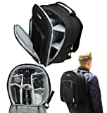 Navitech Digital SLR Camera & Lense Backpack Bag Case For The SONY Alpha SLT-A57K/ SONY Alpha SLT-A57M/ SONY Alpha SLT-A65V/ SONY Alpha SLT-A65VK/ SONY Alpha SLT-A65VM/ SONY Alpha SLT-A77VM/ SONY Alpha SLT-A77VQ/ SONY Alpha SLT-A99V