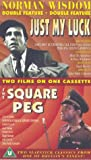 Just My Luck / The Square Peg [VHS] [1957/1958]