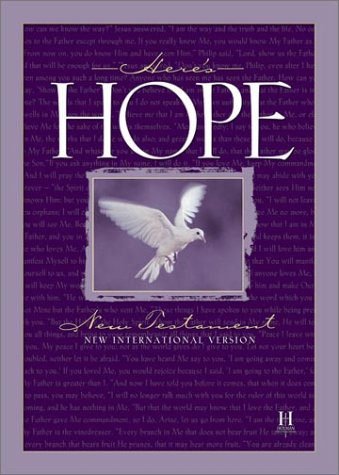 Here's Hope Bible: New International Version, New Testament (International Version)