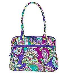 Vera Bradley Zip-Around Handbag in Heather Floral
