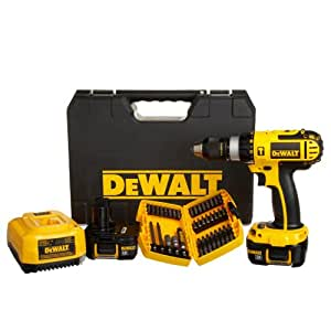 DEWALT DCD775KL-A 1/2-Inch 18-Volt Compact Lithium-Ion Hammer Drill Kit with Accessory Set