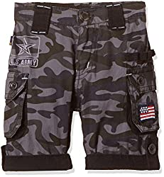 Seals Boys' Shorts (AM8123_1_GRAY_3)