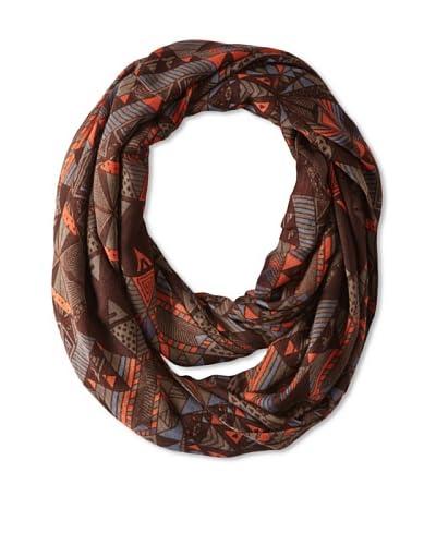 Theodora & Callum Women's Tahoe Infinity Scarf, Brown Multi, One Size