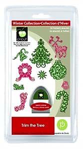 Amazon.com: Cricut SEASONAL Cartridge Trim the Tree