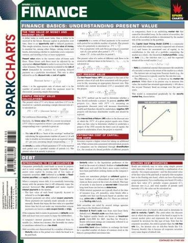 Finance (SparkCharts)