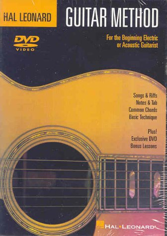 Hal Leonard Guitar Method DVD: For the Beginning Electric or Acoustic Guitarist