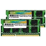 SP シリコンパワー ノートPC用メモリ 8GB×2枚組 DDR3-1600 PC3-12800 SO-DIMM (無期限保証) SP016GBSTU160N22