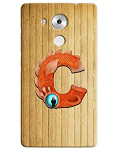 Omnam Stylish Orange Car With Paint On It Printed Designer Back Cover Case For Huawei Honor Mate 8