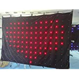 Flykostage P180MM 34M LED video curtain led video screen on hot sale for party stage