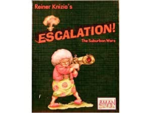 Reiner Knizia's Escalation Card Game: The Suburban Wars (ZMG-4037)