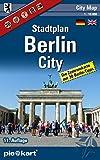 Berlin City 1 : 10.000 Stadtplan: Detaillierte Zentrumkarte mit 30 Berlin-Tipps und Informationen zu Shopping, Nightlife, Museen, Theatern, Kinos und ÖPNV