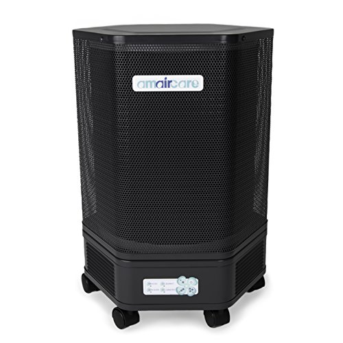 Amaircare 3000 HEPA Air Purifier, Pre, Post Filters, Slate Slate Post Accessories