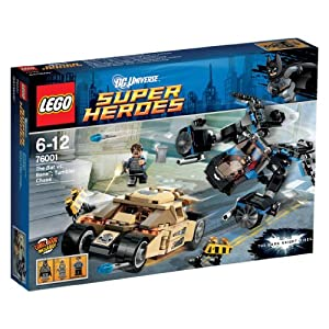 LEGO Super Heroes 76001: The Bat vs. Bane Tumbler Chase