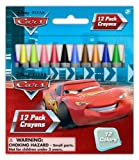 Cars 12 pack wax crayons (5321A) Office Supply Product