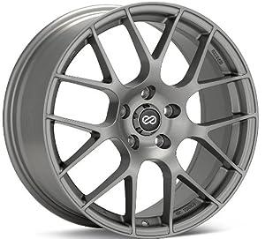 Enkei RAIJIN- Tuning Series Wheel, Titanium Gray (18×8″ – 5×114.3/5×4.5, 40mm Offset) One Wheel/Rim