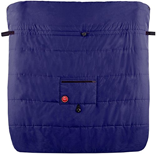 Blue Banana Double Stroller Blanket - Navy