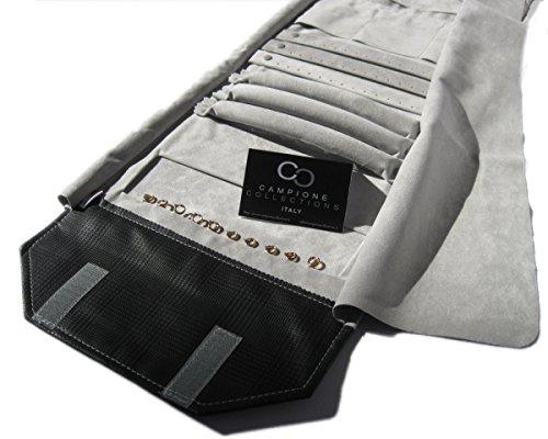 Rotolo professionale da gioielleria porta gioielli misto portagioielli da cassaforte o da viaggio