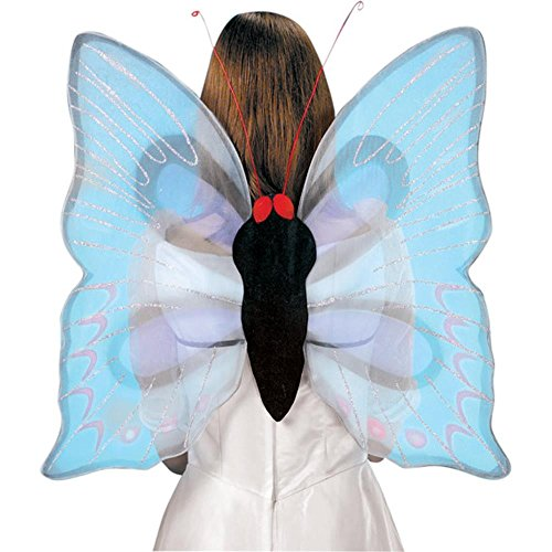 Adult Lavender Butterfly Costume Wings (Size:Std)