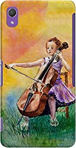 DailyObjects Cello Dreams Case For Sony Xperia Z2