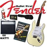 E-Gitarre Original Fender Squier Bullet Strat weiß