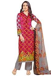 Lebaas Pakistani Style Salwar Suit Dupatta Material (Un-stitched)
