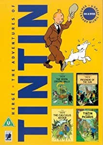 The Adventures Of Tintin - Vol. 4 [1990] [DVD]