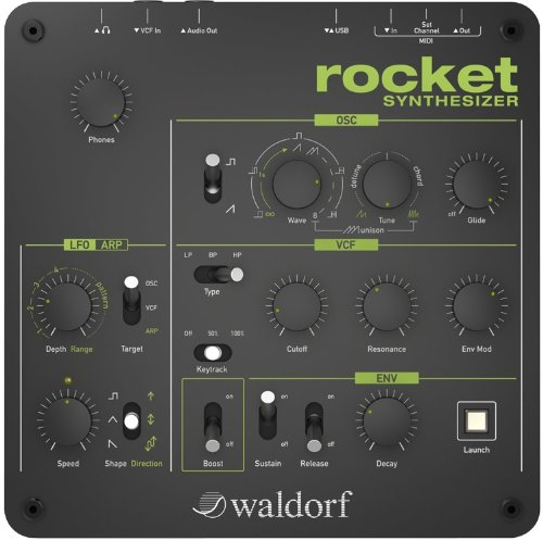 Lowest Price! Waldorf Rocket Desktop Synthesizer